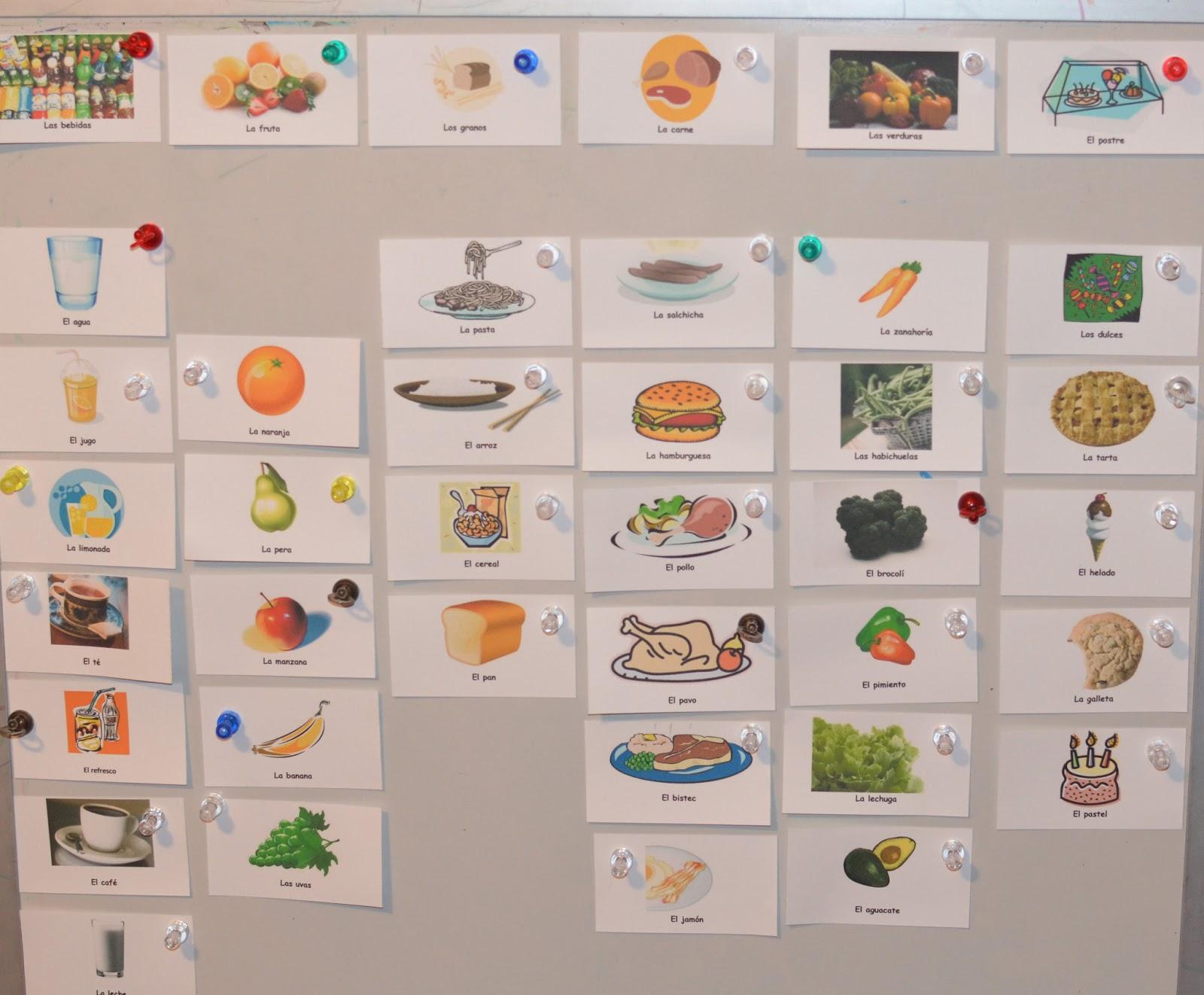 homeschool aventuras la comida food lesson plan
