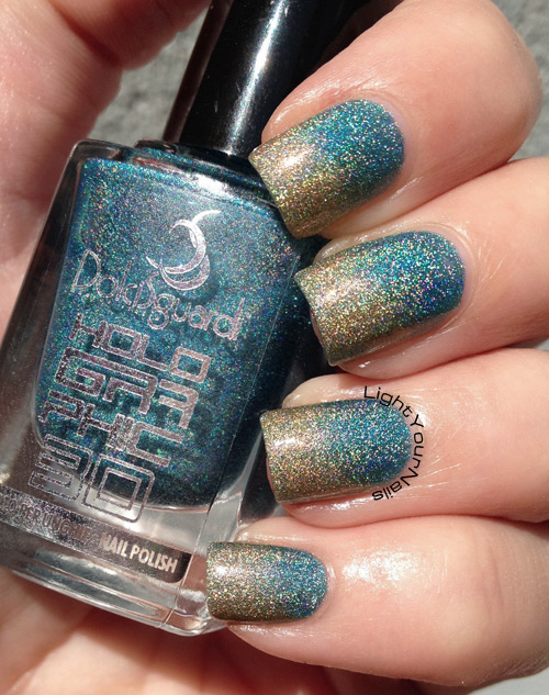Holographic gradient