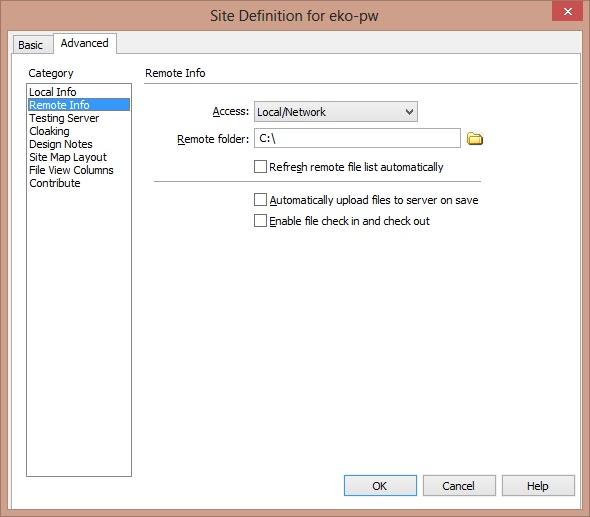 how to fully delete dreamweaver files