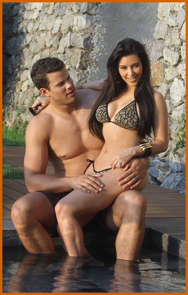 Indian Jokes Kim Kardashian Shows Off Custom Bikini On Honeymoon Photos Wallpapers