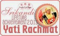 Srikandi Lifetime Achievement 2013