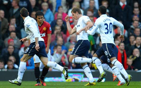 Hasil MU VS Tottenham 29 september 2012