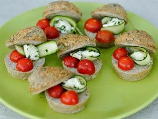 Bouchées de muffins à l'Italienne