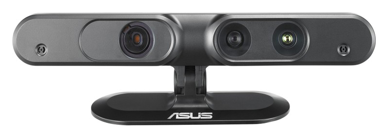 An Asus Xtion Pro Live, the recommended alternative to a Kinect