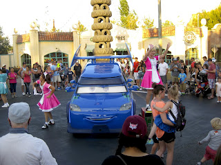 DJ cars land
