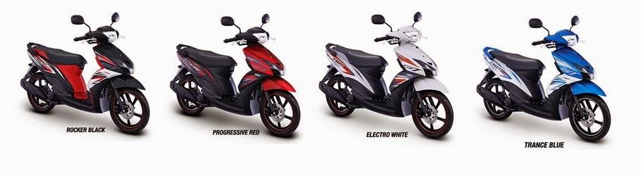 Spesifkasi & Harga Kredit Yamaha Mio GT
