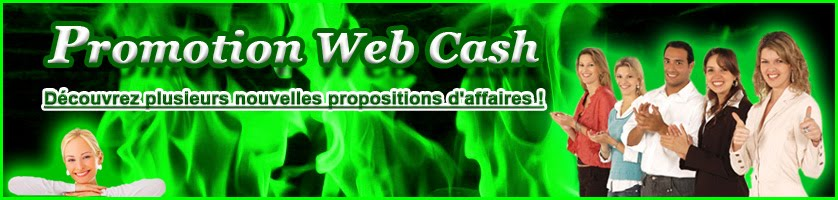 Promotion Web Cash