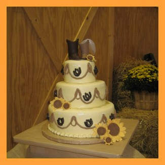 Country Western Wedding Cakes Delicious Western Wedding Cakes