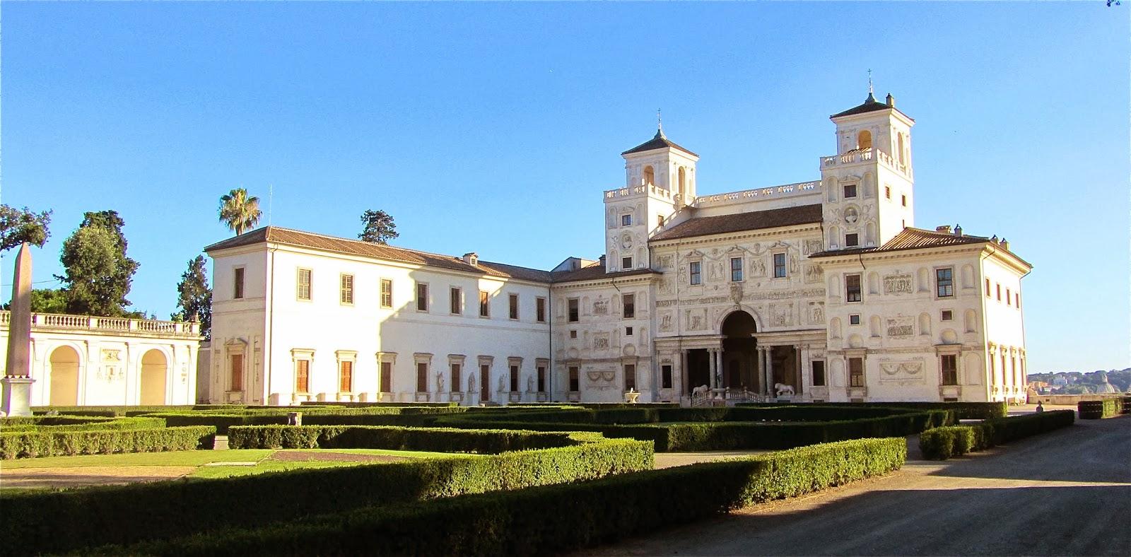 Sens et le dire villa m dicis si rome antique for Jardin villa medicis rome