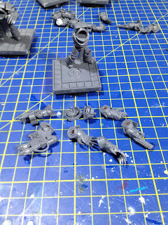 The Horus Heresy Betrayal at Calth Legion Cataphractii Terminators magnetized