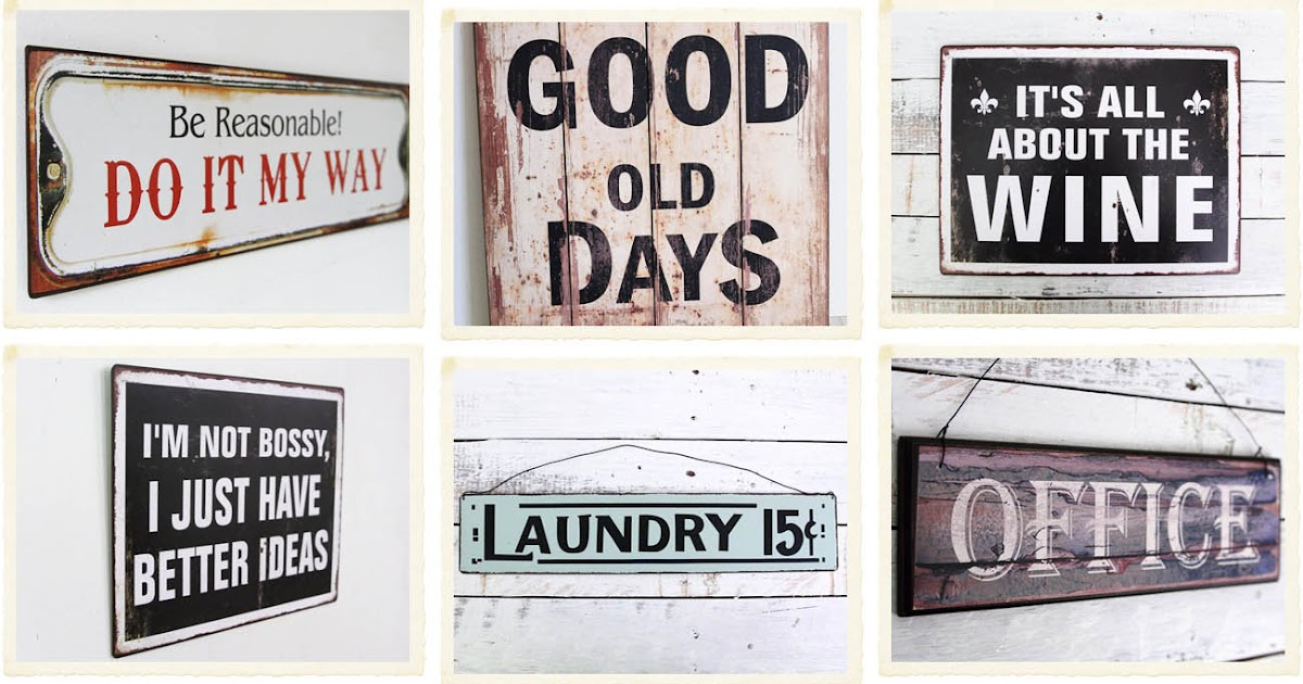 Industrial style shabby chic interiors for Scritte vintage
