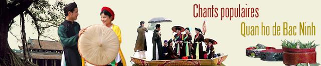 Chants populaires quan ho de bac ninh (patrimoine culturel immatériel de l'humanité)