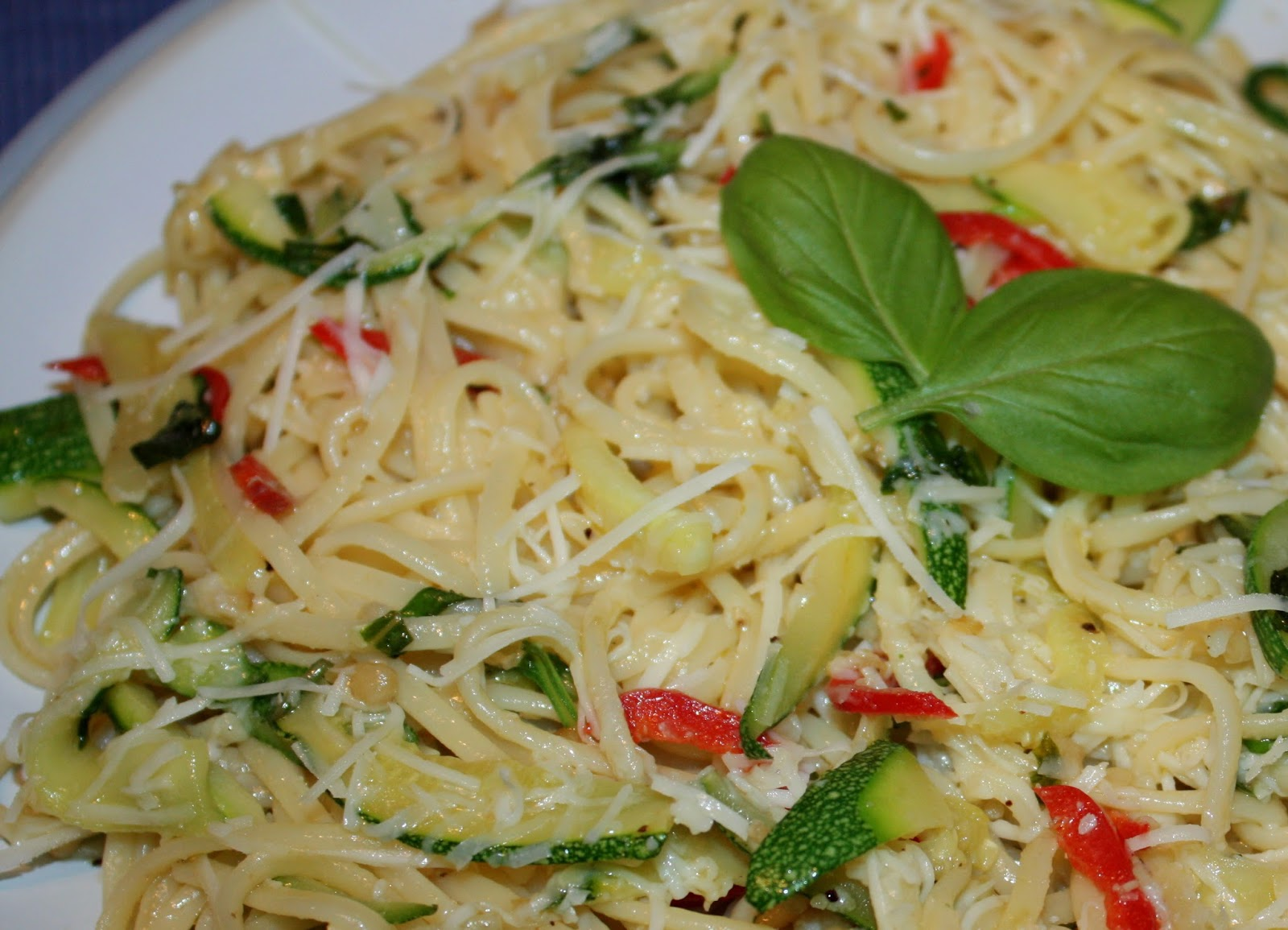 how to cook courgettes for pasta