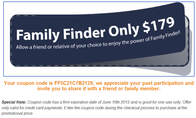 Family tree dna coupon code