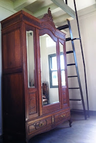 Stunning Walnut French Armoire