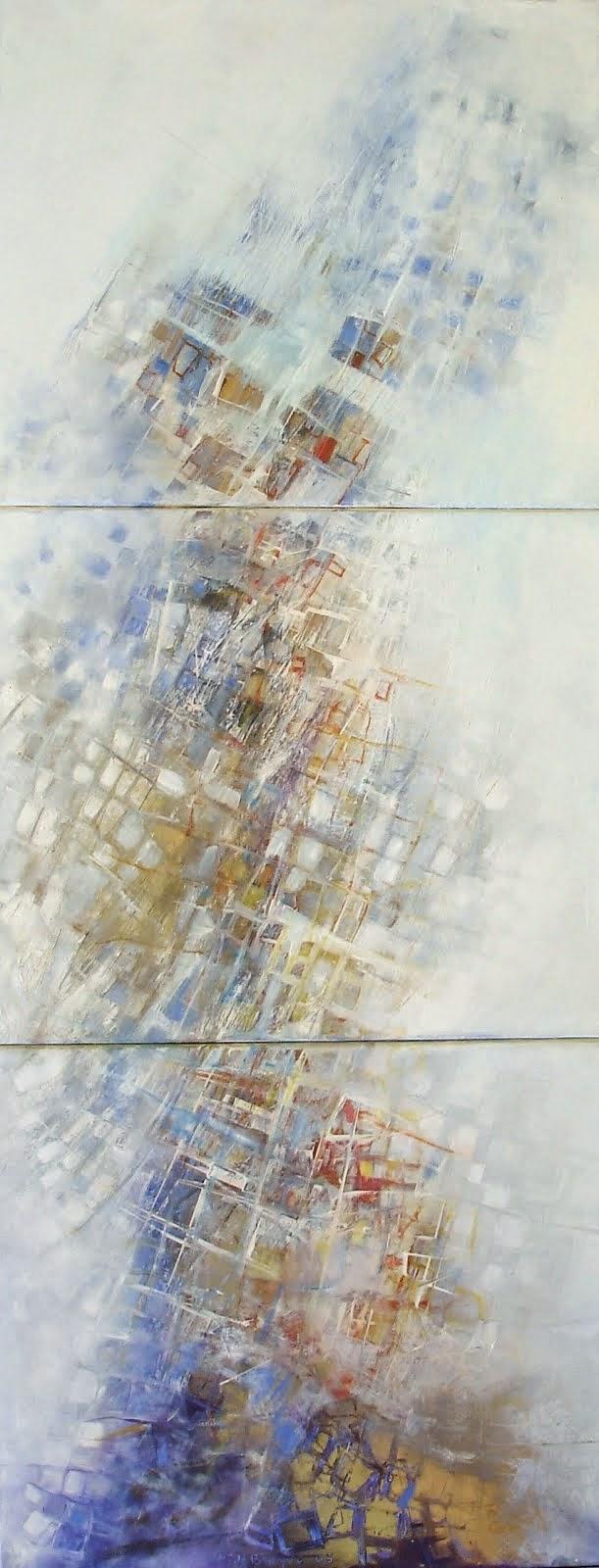 D'or et de lumière - 70 x 180 cm - 2005