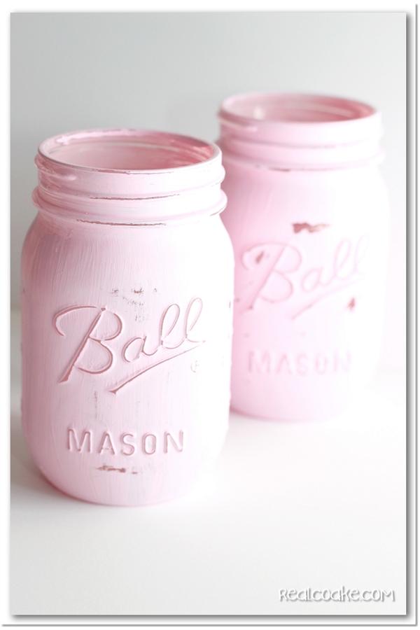 Make a pencil holder a mason jar craft for Mason jar crafts love