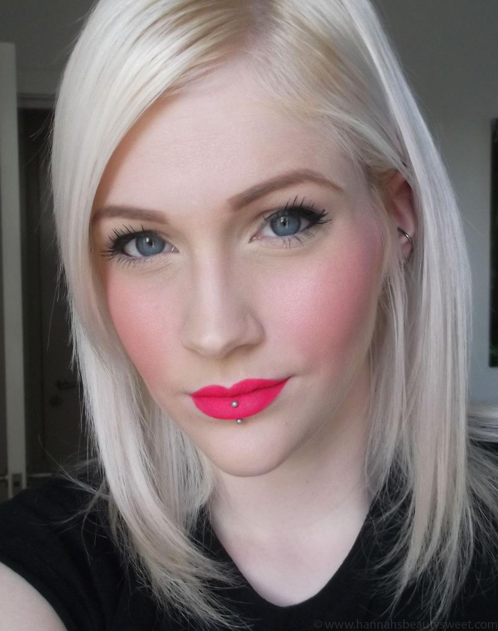 Sleek Matte Me Lipsticks, pink matte lips