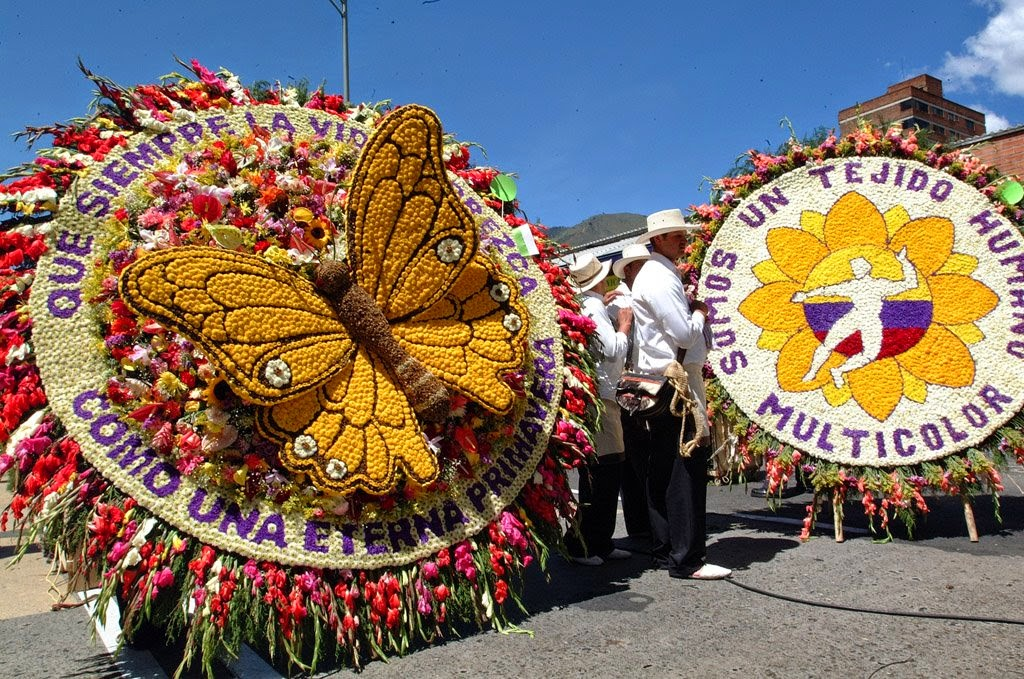 Medellín-feria-flores-Colombia