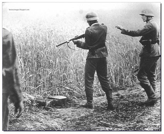 Killing a Soviet Commissar