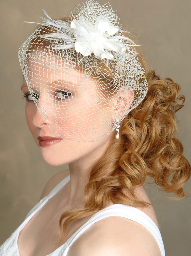 birdcage veil images bridal jewellery