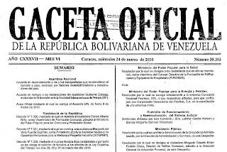 Ver Decreto Presidencial Semana Santa 2011 Venezuela