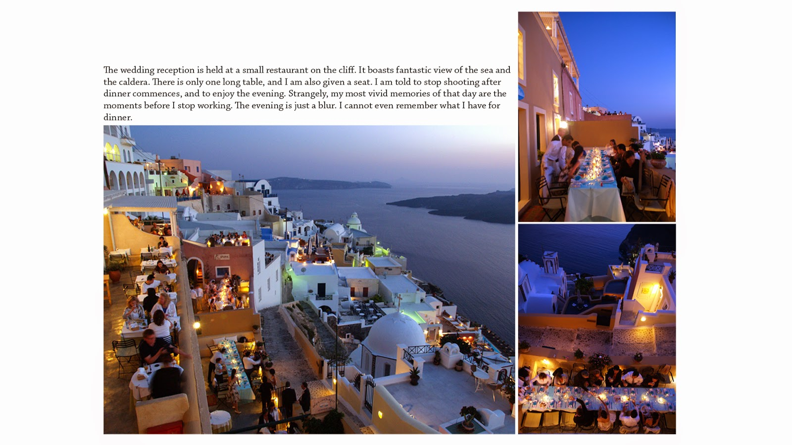 wedding photography singapore santorini cliff