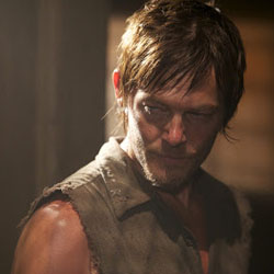 Daryl Dixon (Norman Reedus) en The Walking Dead 3x06 - Hounded
