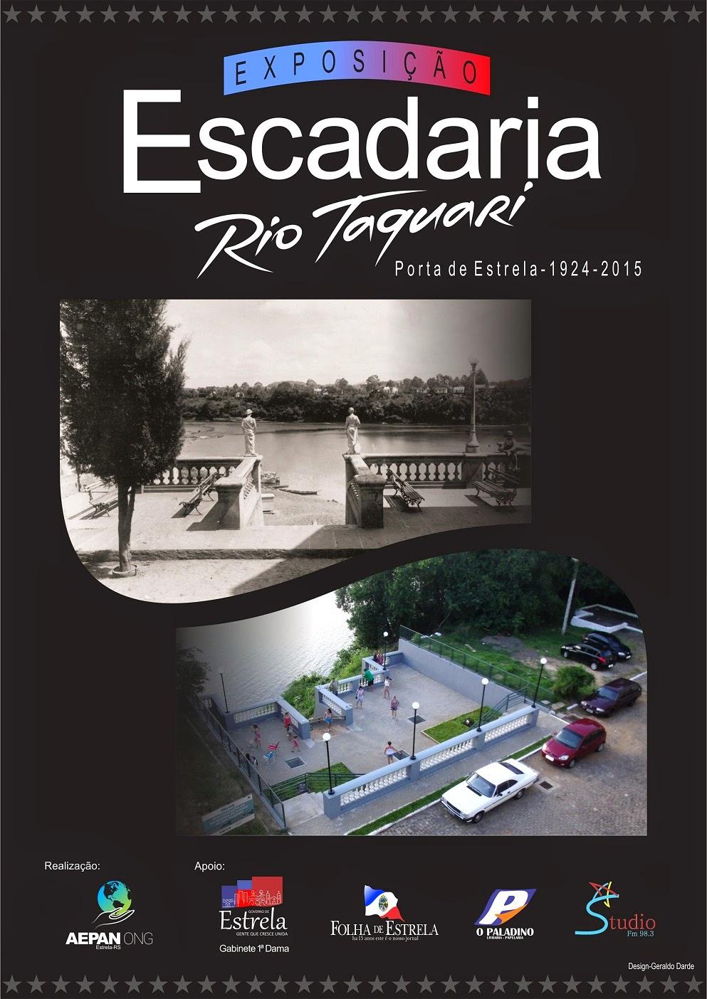 Exposição - Escadaria do Rio Taquari - A Porta de Estrela-RS