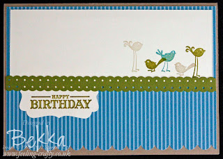 Aviary Card by Stampin' Up! Demonstrator Bekka Prideaux