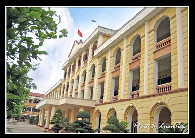 Về trường THPT Hải Hậu A - Nam Định, anh dep Hai Hau A