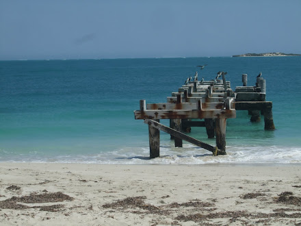The ol' jetty Jurien Bay