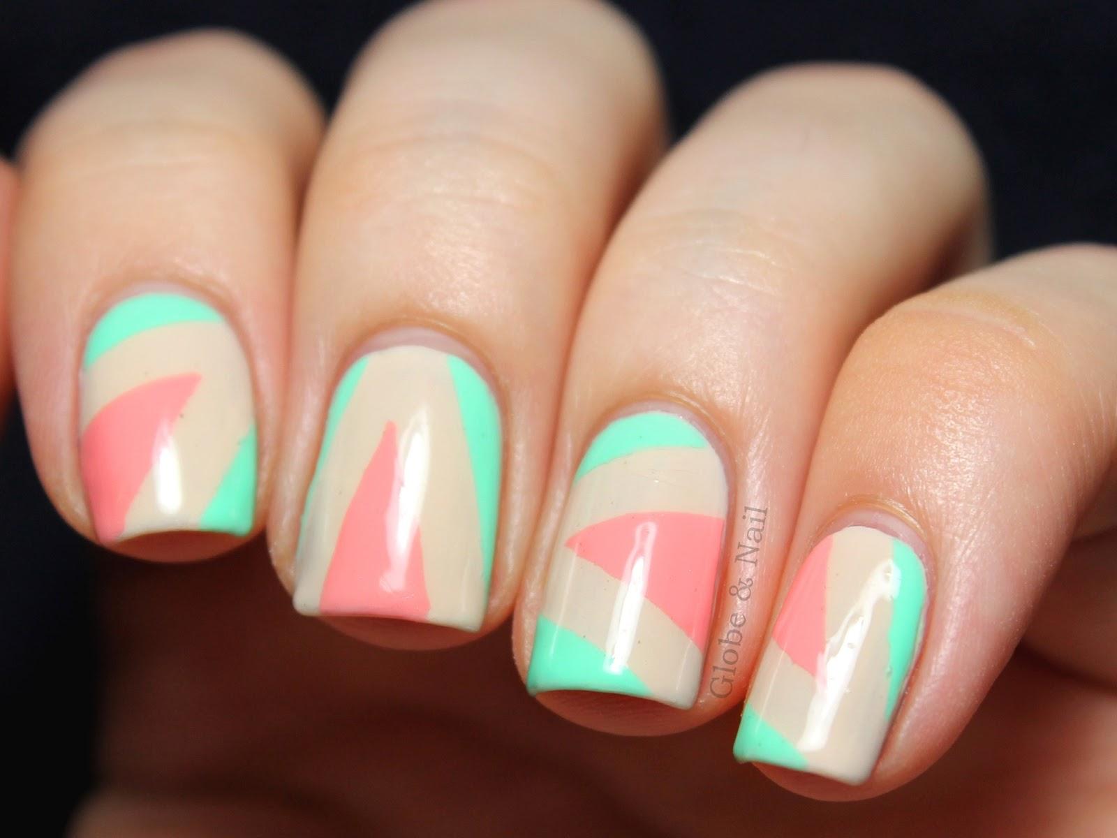 Bright neon acrylic nails 1417609 - terrasource.info