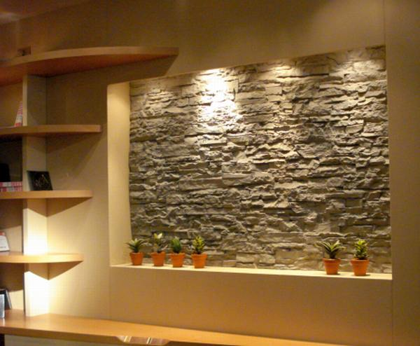 decorar muros interiores : decorar muros interiores:Interior Stone Wall