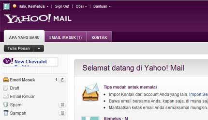 cara membuat email di yahoo 1