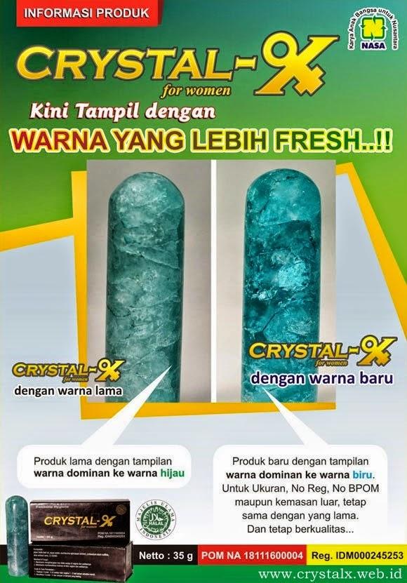 Crystal X dengan warna baru