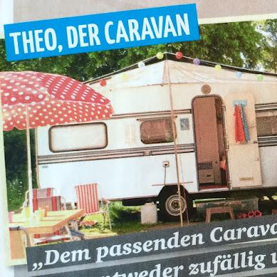 Theo in der Zeitschrift Clever Campen