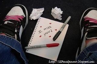 e pense à toi - message d'amour