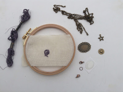 diy necklace supplies fournitures pour collier