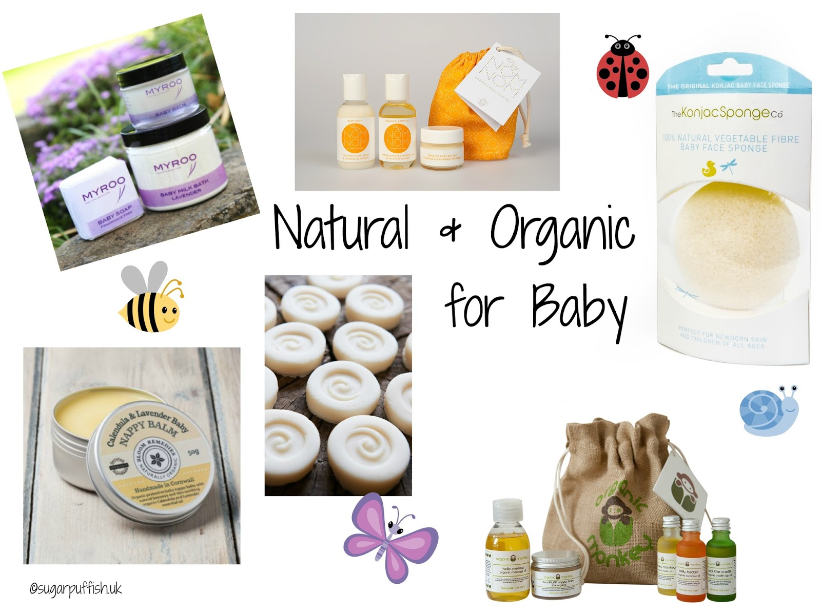 Natural skincare for mother and baby