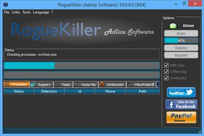RogueKiller v11.0.6.0 Portable Download anti-malware software