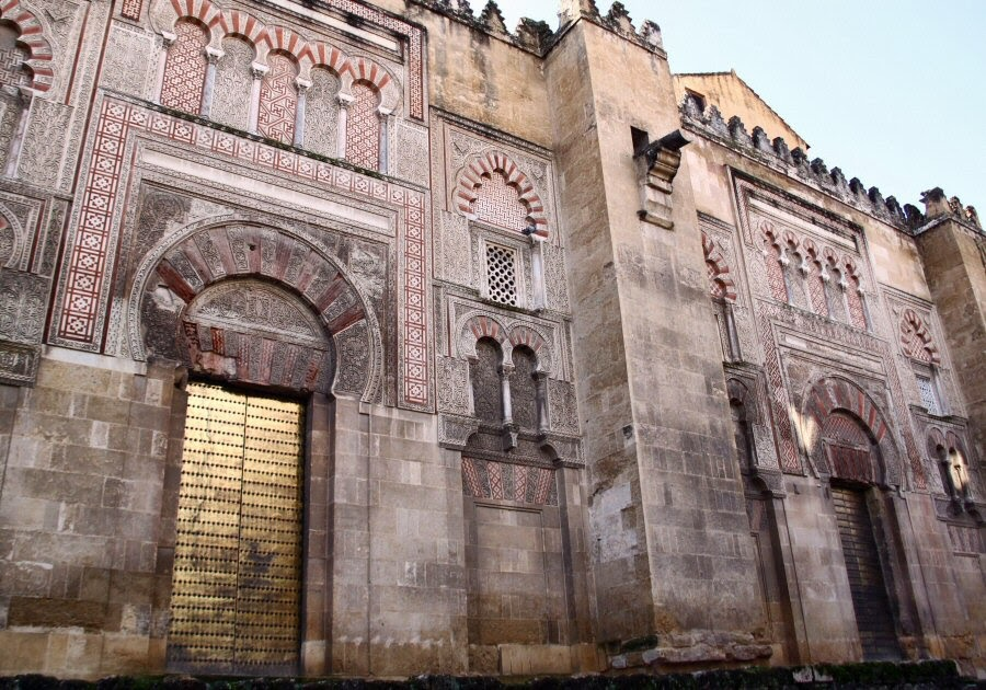 Historia del arte 2 bachiller comentario de la mezquita for Exterior mezquita de cordoba