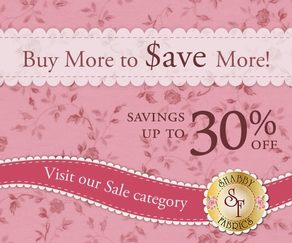 Shabby Fabrics | Buy More, Save More Discount Sale