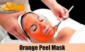 orange peel face pack for instant glow