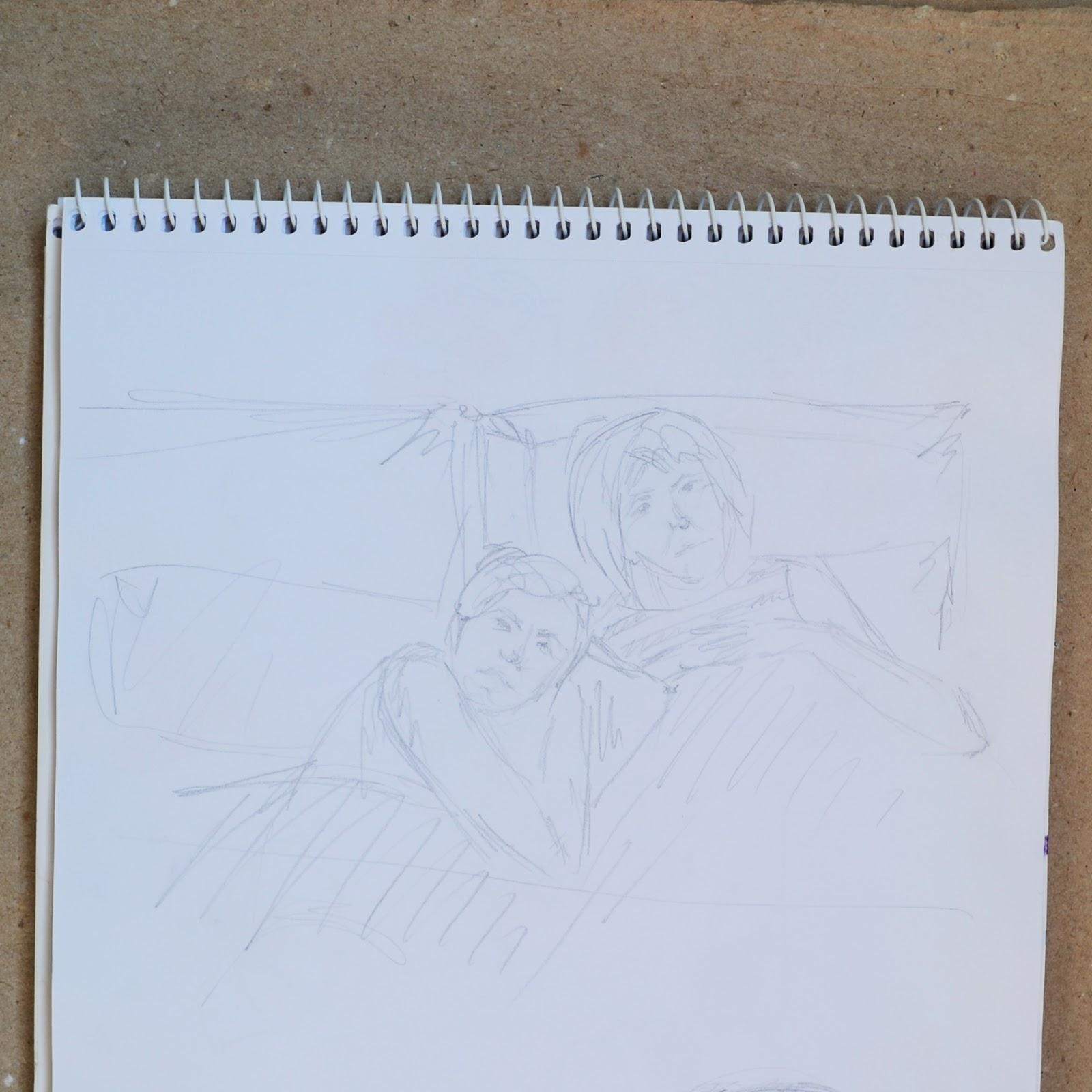 Рисунок мама и сестра фото 26 фотография