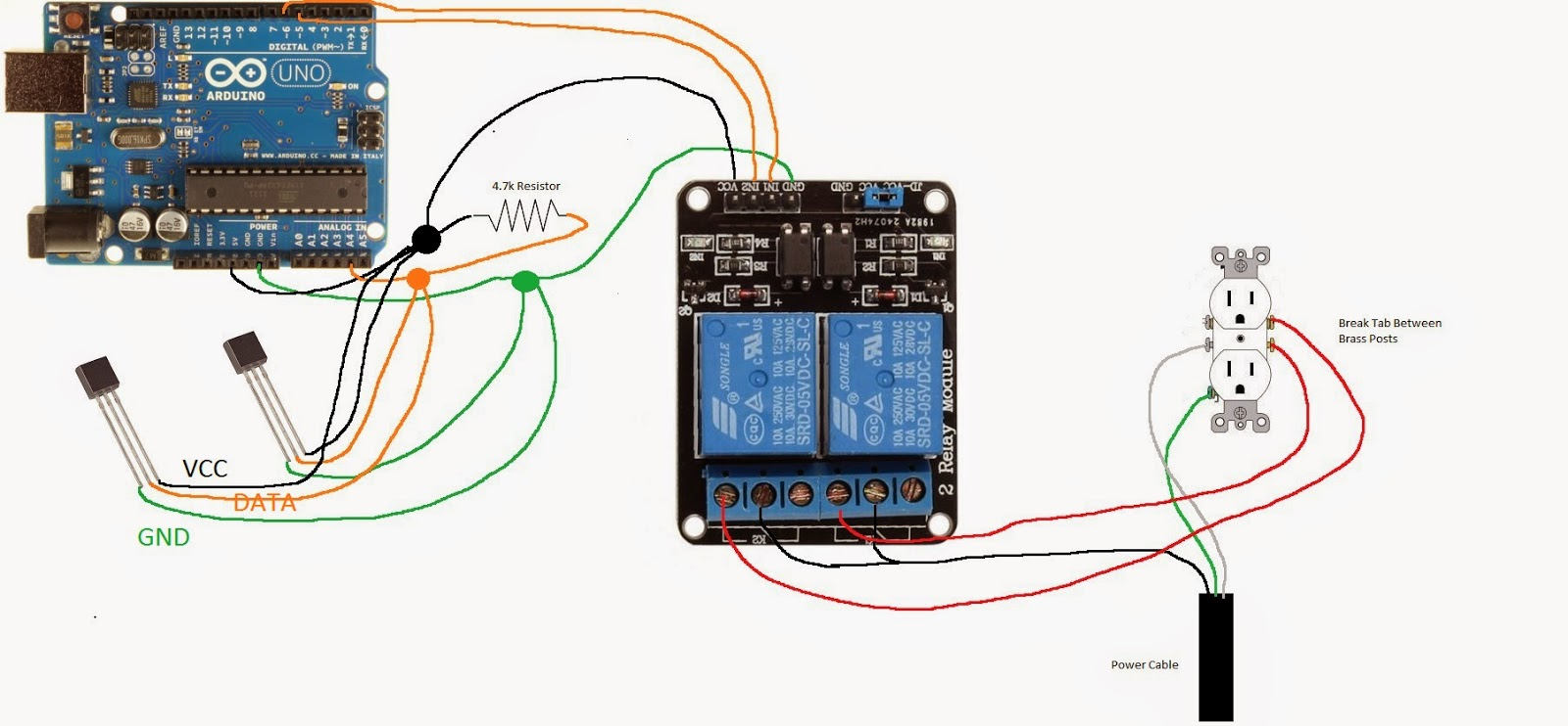 Arduino Ssr Wiring Diagram The Structural Solid State Relay Ac Simple Rh 48 Mara Cujas De Oven