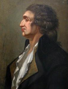 Antoine-Nicolas de Caritat, markies de Condorcet, door onbekende schilder