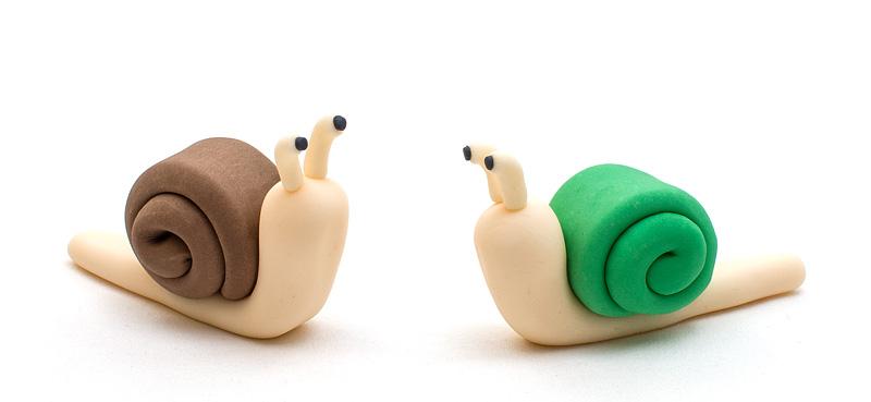 Snails fondant