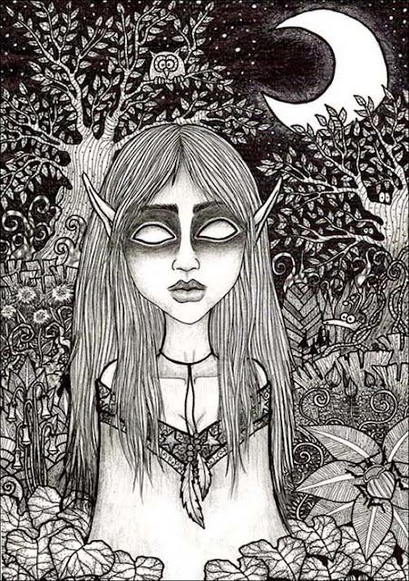 in night por InesPeace