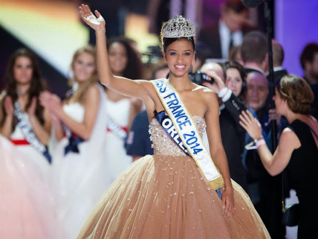 Miss France 2014 winner Flora Coquerel